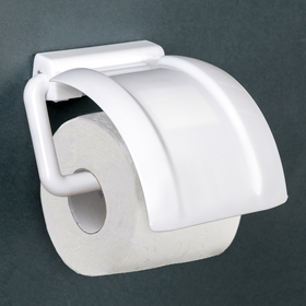 Держатель для туалетной бумаги, цвет белый