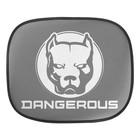 """Шторки на боковое стекло """"Dangerous"""", 2 шт"""