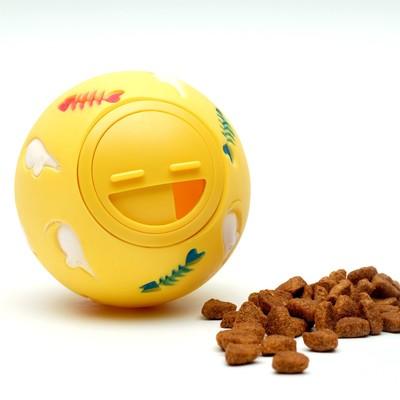 """Игрушка-шар под лакомства """"Мыши и рыбы"""", 7,5 см"""