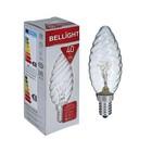 Лампа накаливания BELLIGHT, ДВ, 40 Вт, Е14, 230 В