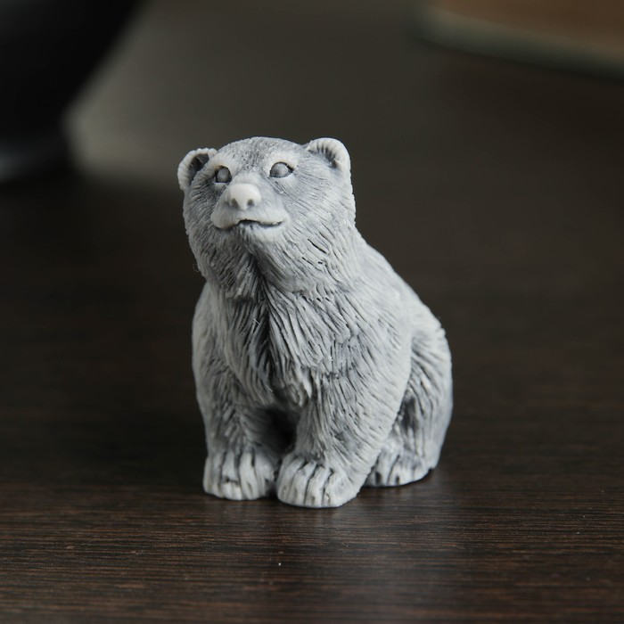 Сувенир Медвежонок сидит 4,5см