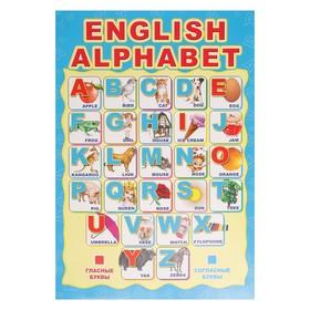 "Плакат ""Английский Алфавит"" А3"