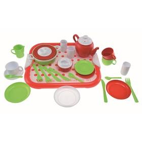 Набор игрушечной посуды Gowi, 29 предметов