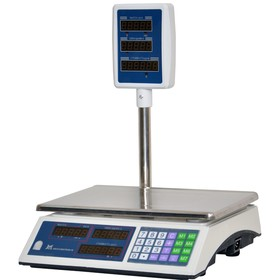 Весы ВР 4900-15-2/5 СДБ-01, платформа 330х230, со стойкой Ош