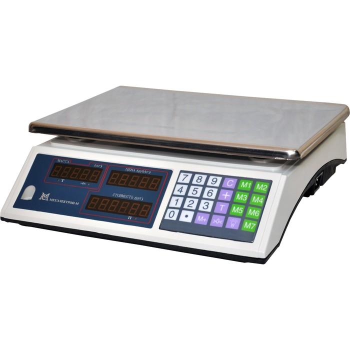 Весы ВР 4900-30-2Д-ДБ 02 до 30кг без стойки