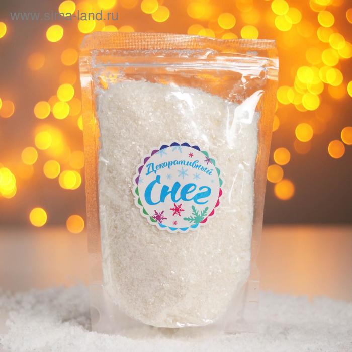 Снег искусственный сыпучий для декора «Льдинки» 160 г