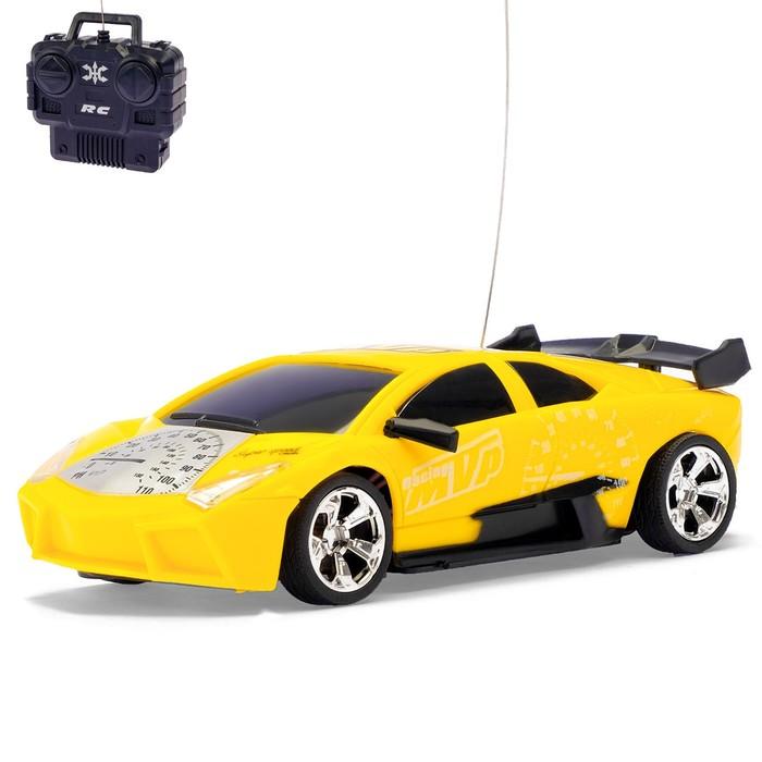 """Машина радиоуправляемая """"Скорость"""", работает от батареек, цвета МИКС"""