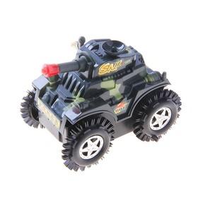 Машина-перевертыш «Спецназ», работает от батареек, в пакете Ош