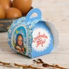 Пасхальная коробочка для яйца «Девочка с куличом»