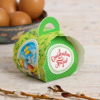 Пасхальная коробочка для яйца «Природная»