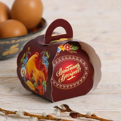 Пасхальная коробочка для яйца «Христос Воскресе!»