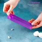 Набор печатей для марципана и теста Доляна «Алфавит русский, цифры», 43 шт с держателем, буква 3 см - Фото 6