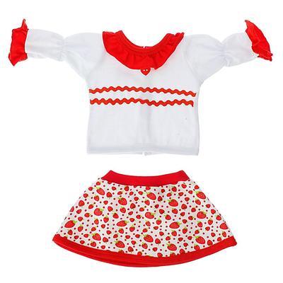 Одежда для кукол 38-43 см: блуза с юбкой, МИКС - Фото 1