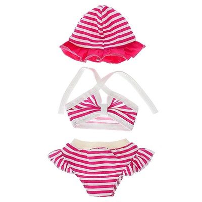 Одежда для кукол 38-43 см: топик, шорты с панамой, МИКС - Фото 1