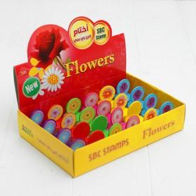 Печать цветная «Цветы», МИКС Ош