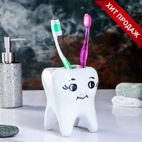 "Стакан под зубную щетку ""Зуб"""