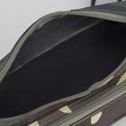 Сумка поясная, отдел на молнии, наружный карман, цвет хаки - Фото 5