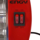 Обогреватель ENGY QH-1500S, кварцевый инфракрасный, 3 уровня нагрева, 1500 Вт, красный - Фото 2