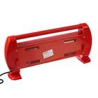 Обогреватель ENGY QH-1500S, кварцевый инфракрасный, 3 уровня нагрева, 1500 Вт, красный - Фото 3
