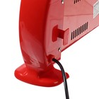 Обогреватель ENGY QH-1500S, кварцевый инфракрасный, 3 уровня нагрева, 1500 Вт, красный - Фото 4