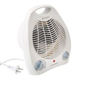 Тепловентилятор ENERGY EN-509, спиральный, напольный, 2000 Вт, 2 режима, белый Ош