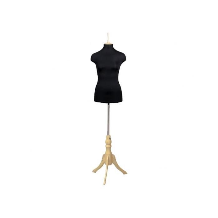 Манекен женский портновский, размер 44-46, 90*71*96, тренога чёрная