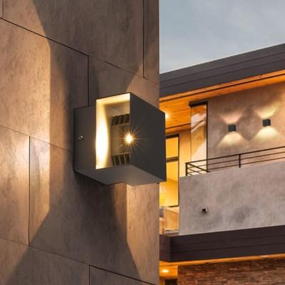 Светильник светодиодный 1607 TECHNO, IP65, 3000K, 6 Вт, цвет графит