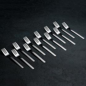 Набор вилок столовых «Кралинка», h=18 см, 12 шт