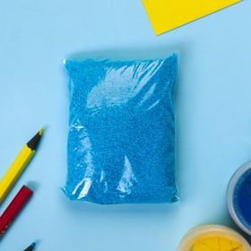 Песок цветной в пакете 'Синий' 100 гр Ош