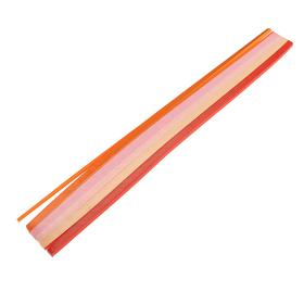 Набор бумаги для кручения 250л, 80гр, толщ. 3мм Ассорти 5 цв. красный