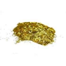 Блестки Silk Plaster, люрекс, золотые Ош