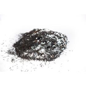 Блестки Silk Plaster, люрекс, серебряные Ош