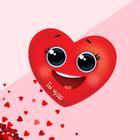 Открытка?валентинка «Ты чудо», сердечко, 7.1 x 6.1 см