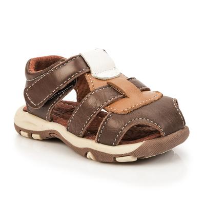 Сандалии детские MINAKU цвет коричневый, размер 21 - Фото 1