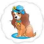 """Гель-пена для душа """"Собака в шляпе"""" с ароматом жевательной резинки, 60 мл"""