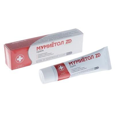 Крем для тела «Мумиётол ZD» с Д-пантенолом, 50 мл. - Фото 1