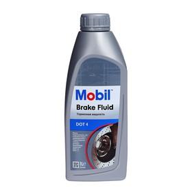Тормозная жидкость Mobil Brake fluid DOT 4, 1 л