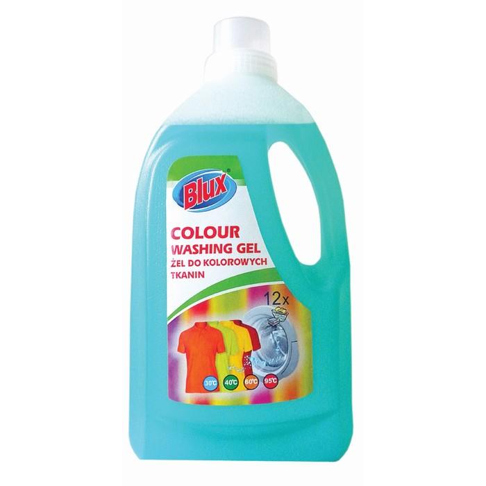 Гель для стирки цветного белья Blux, 1,5 л
