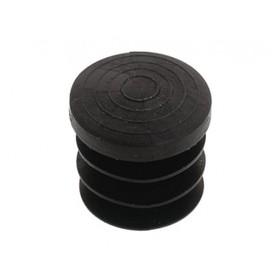 Ножка-заглушка R-16 пластиковая, внутренняя, цвет чёрный Ош