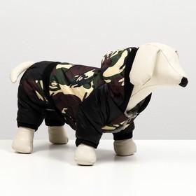 Комбинезон для собак на меховом подкладе, размер L Ош