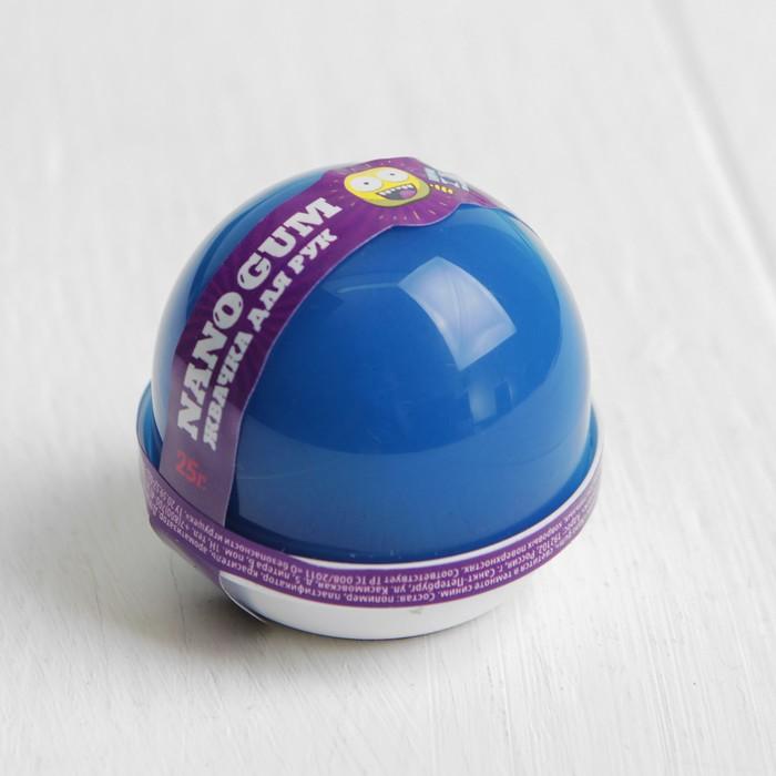 """Жвачка для рук """"Nano gum"""", светится в темноте синим, 25 г"""