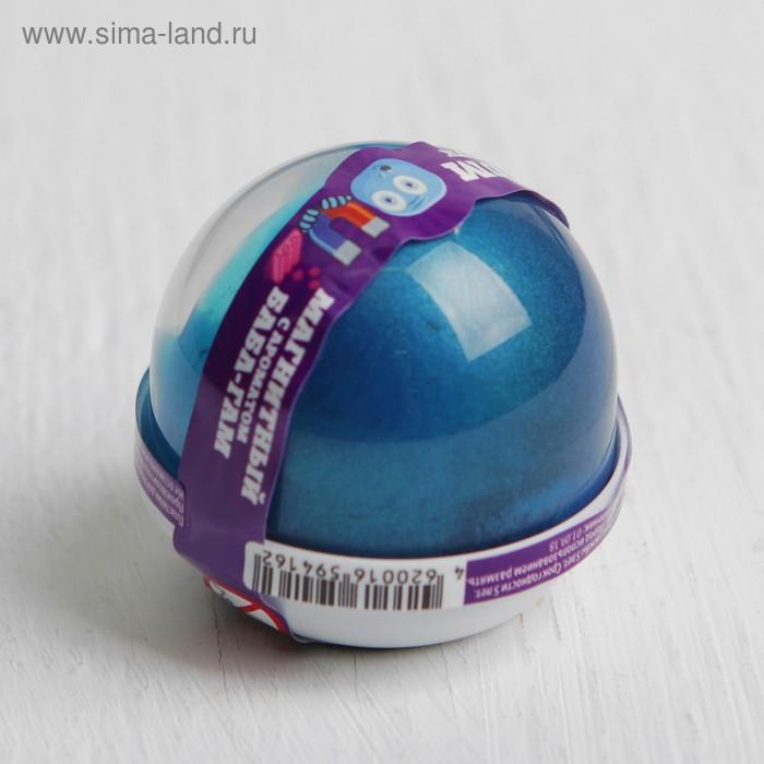 "Жвачка для рук ""Nano gum"", магнитный с ароматом БАБЛ ГАМ, 25 г"