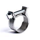 Хомут стяжной мини, диаметр 6-8 мм, ширина 9 мм, нержавеющая сталь