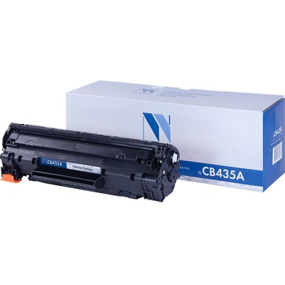Картридж NV PRINT NV-CB435A/NV-712 для HP P1005/P1006 и Canon LBP3010/3010B (2000k), черный