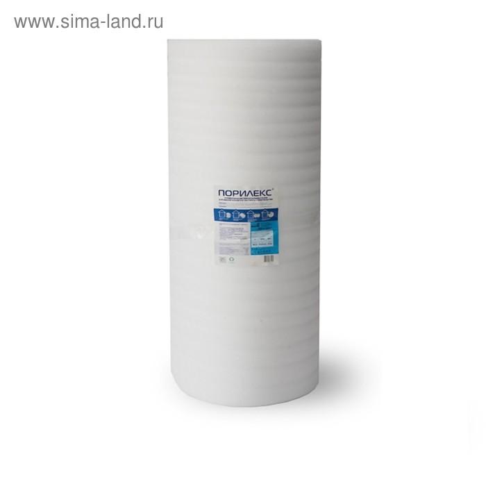 "Теплоизоляция ""Порилекс"" НПЭ, толщина 8 мм, рулон 1,25х20 м, 25 кв. м."