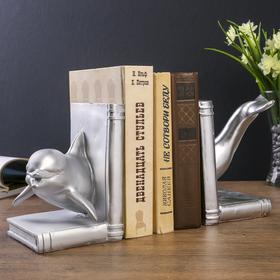 Держатели для книг 'Дельфин' набор 2 шт 17х28х23 см Ош