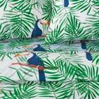 Постельное бельё «Экономь и Я» Тукан 1,5 сп. 143×215 см, 150×220 см, 50×70 см - 2 шт, микрофайбер, 75 г/м² - Фото 2