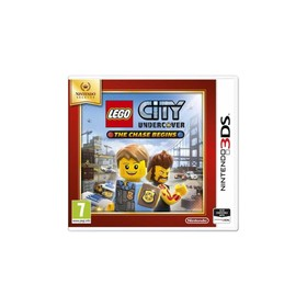 Игра для Nintendo 3DS LEGO City Undercover: The Chase Begins.