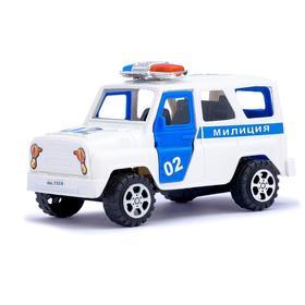 Машина инерционная «Милиция», с открывающимися дверьми Ош