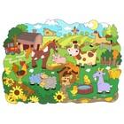 Деревянная мозаика-раскраска «Ферма» - Фото 4